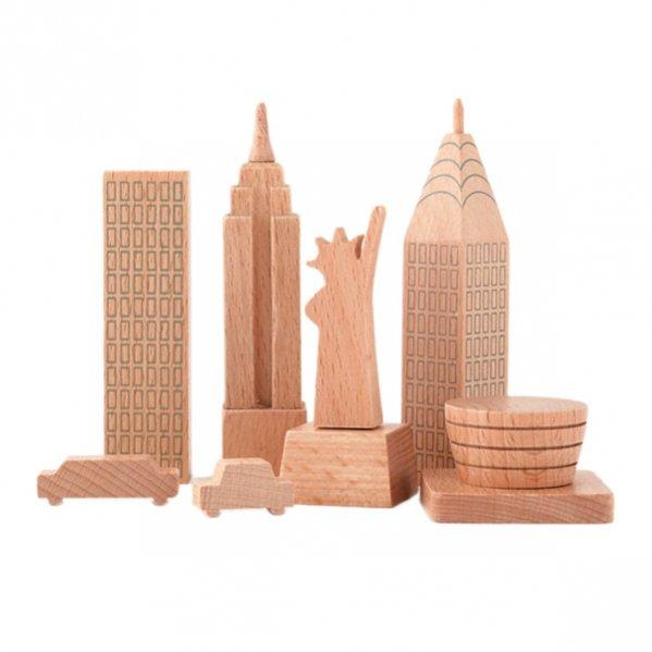 Drewniane zabawki - Nowy Jork - MUJI
