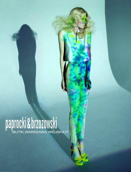 Honorata Wojtkowska twarzą kampanii Paprocki&Brzozowski na sezon wiosna lato 2012
