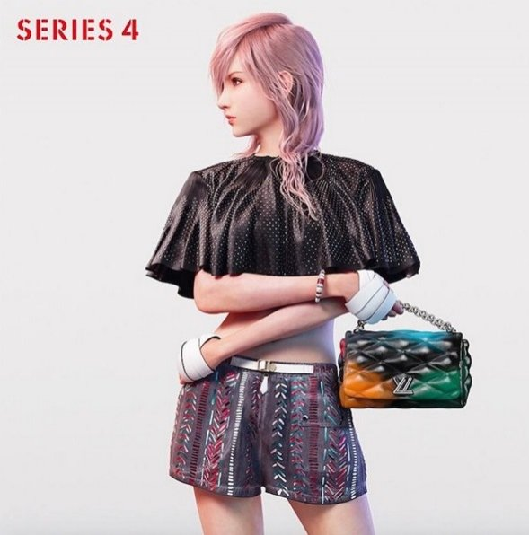 1. Kampania Louis Vuitton Series 4