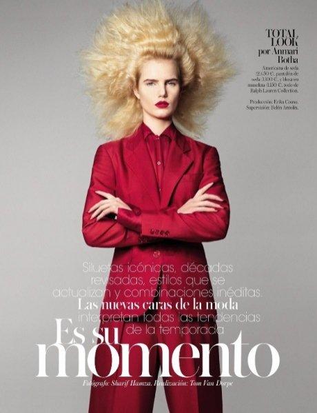 edytorial Vogue Spain - marzec 2013