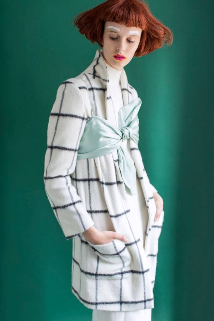 Agnieszka Lauterbach z agencji New Age Models w sesji dla Vogue Mexico