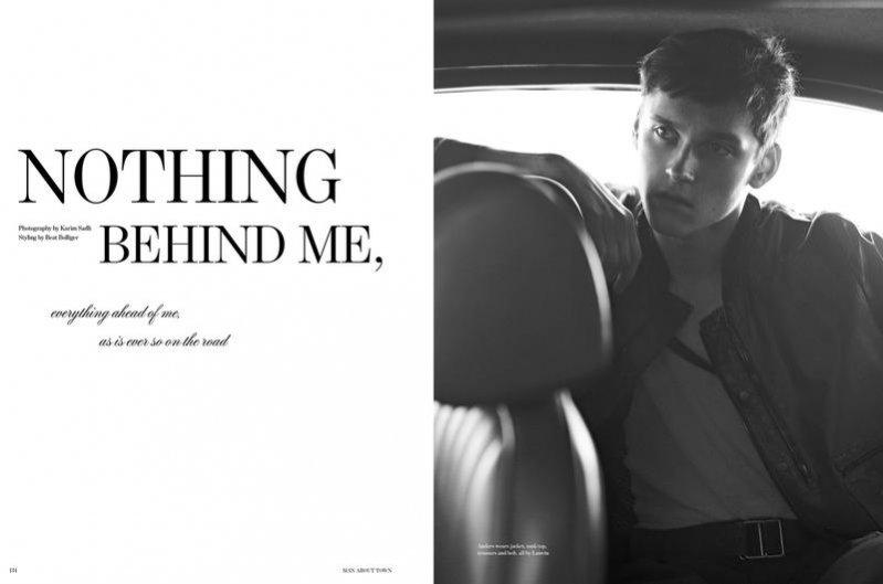 Nothing Behind Me - sesja z Anatolem Modzelewskim w obiektywie Karima Sadli