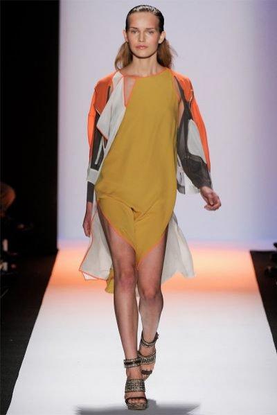 Karolina Wąż w pokazie BCBG Max Azria podczas New York Fashion Week