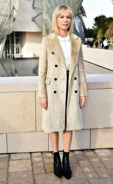 1. Michelle Williams - zoom na styl