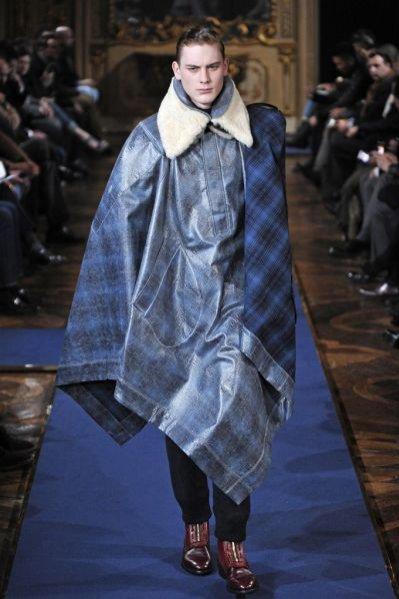 Pokaz męskiej kolekcji Alexander McQueen jesień-zima 2011/12
