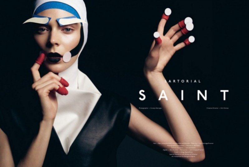 "edytorial ""Sartorial Saint"""