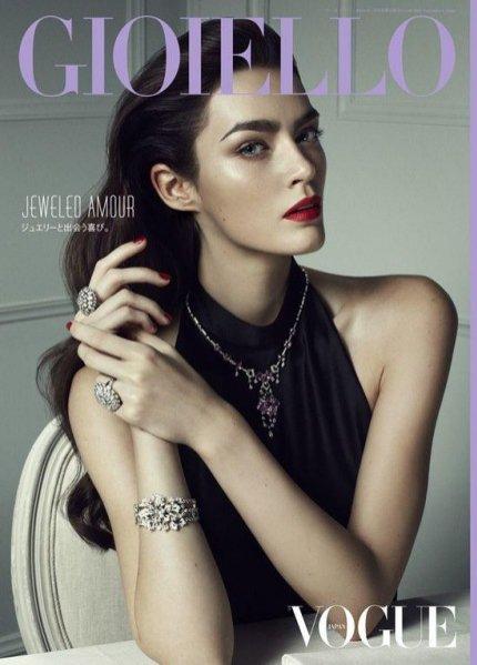 Patrycja Gardygajło w sesji dla Vogue Japan