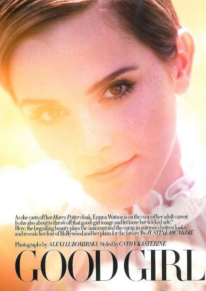 Emma Watson w sierpniowym wydaniu Harper's Bazaar UK