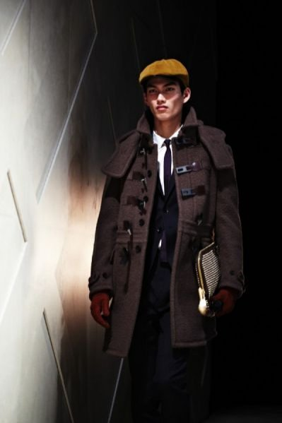 Pokaz męskiej kolekcji Burberry Prorsum wiosna lato 2012