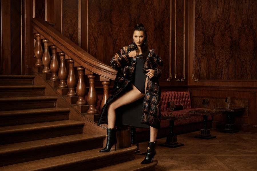 Bella Hadid - Versace x Kith