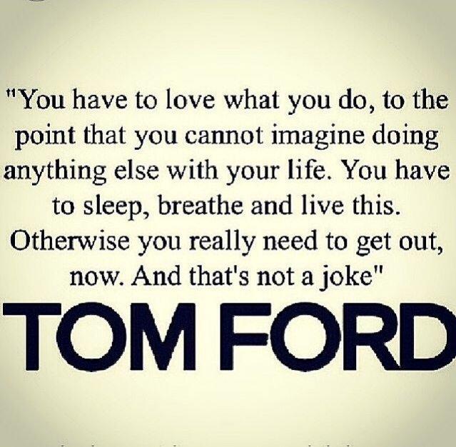 """""""Musisz kochać, to co robisz. W takim sensie, że nie wyobrażasz sobie bez tego życia (...)"""