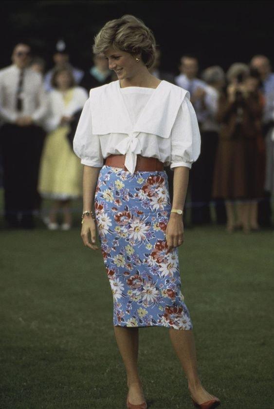 Księżna Diana: styl