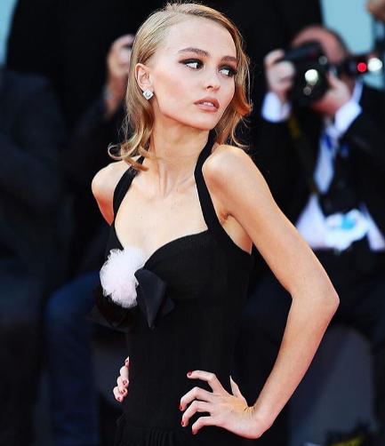 Lily-Rose Depp w Wenecji