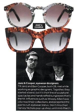 Janz&Cooper i ich okulary
