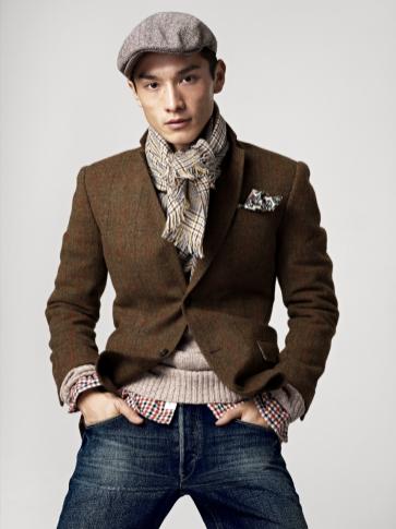 męska kolekcja H&M jesień 2012