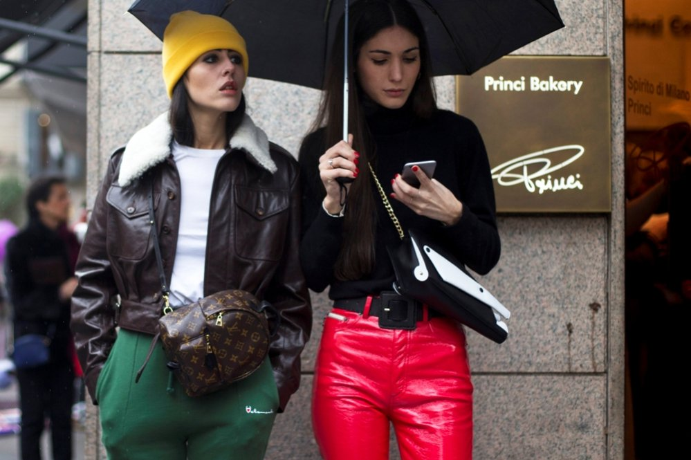 1. Moda uliczna Milan Fashion Week 2016 - Gilda Ambrosio