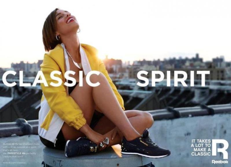 Alicia Keys dla marki Reebok