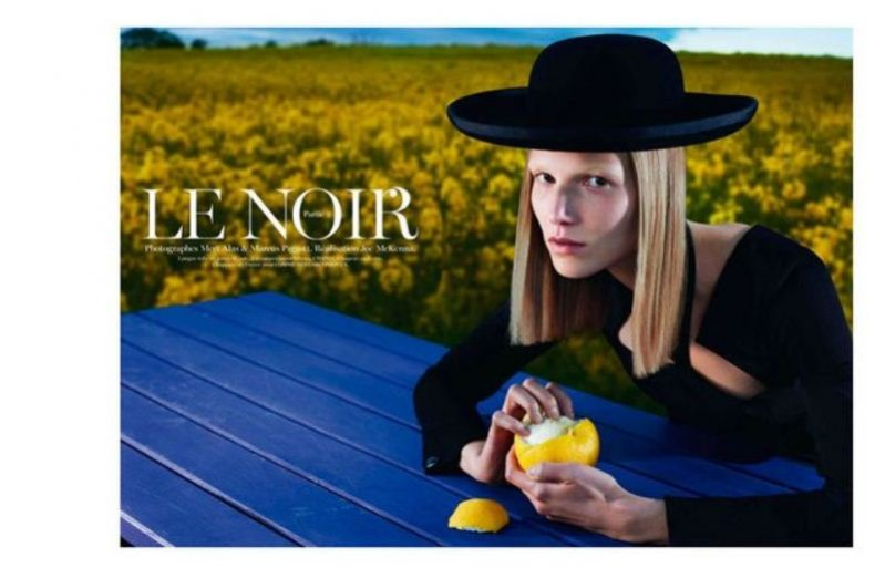 """Le Noir. Partie 2"" w Vogue Paris"