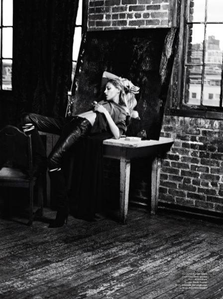 top modelka Anja Rubik w sesji dla V Magazine