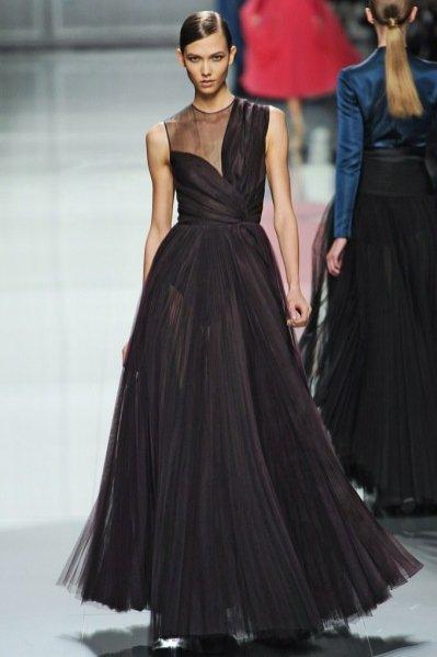 Karlie Kloss na pokazie Christian Dior jesień zima 2012/13