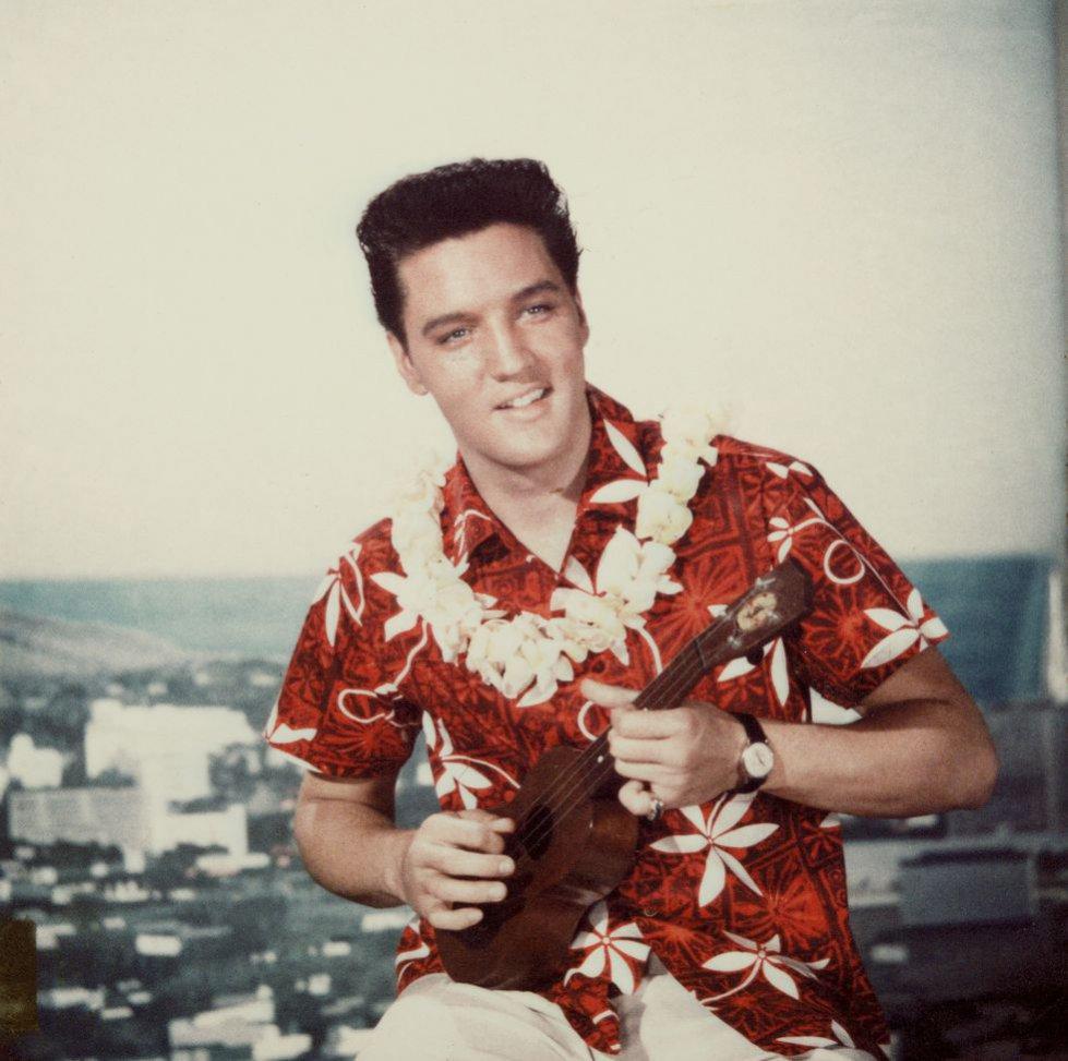 Koszula hawajska - Elvis Presley