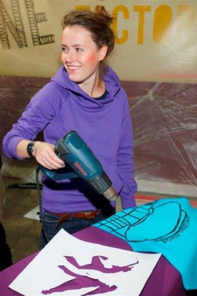 Olga Frycz na Puma Creative Factory