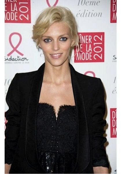 Anja Rubik na Sidaction Gala Dinner 2012