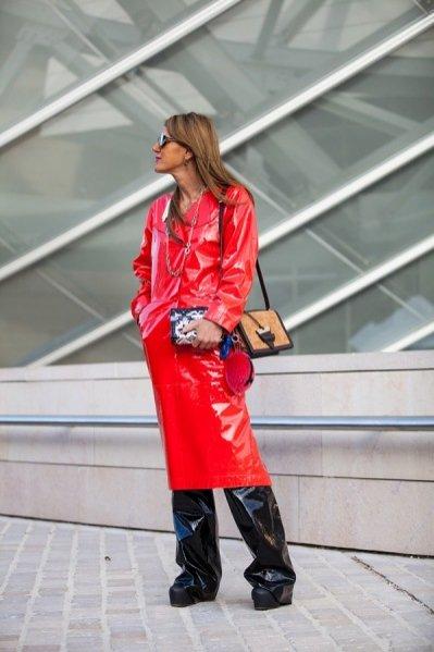 1. Moda uliczna Fashion Week wiosna lato 2016 - Anna Dello Russo