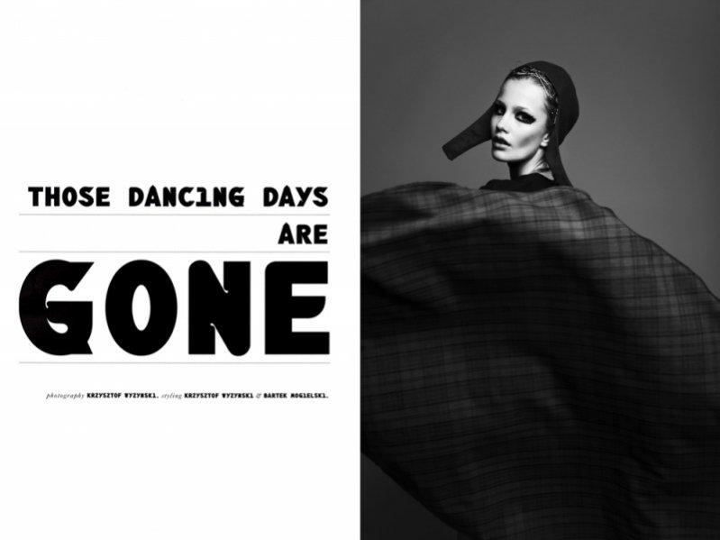 Those Dancing Days Are Gone - edytorial Krzysztofa Wyżyńskiego dla Qvest Magazine