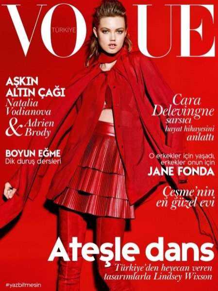 Lindsey Wixson - Vogue Turkey