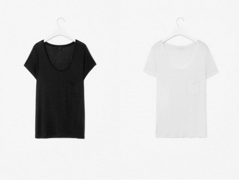 1. Basicowy t-shirt Mango, ok.80PLN