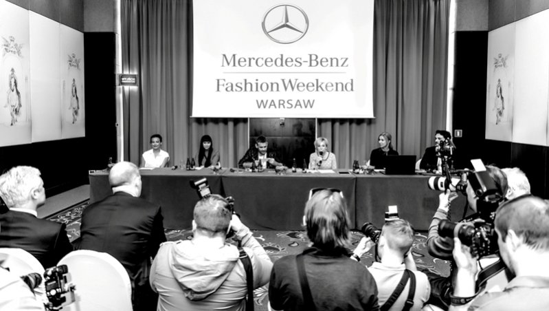 1. Konferencjs Mercedes-Benz Fashion Weekend Warsaw