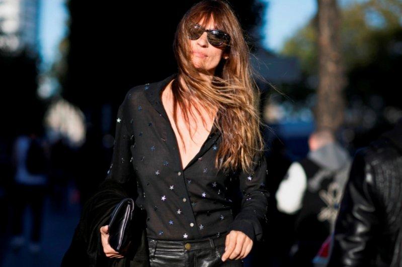 1. Moda uliczna Paris Fashion Week wiosna lato 2016 - Caroline de Maigret