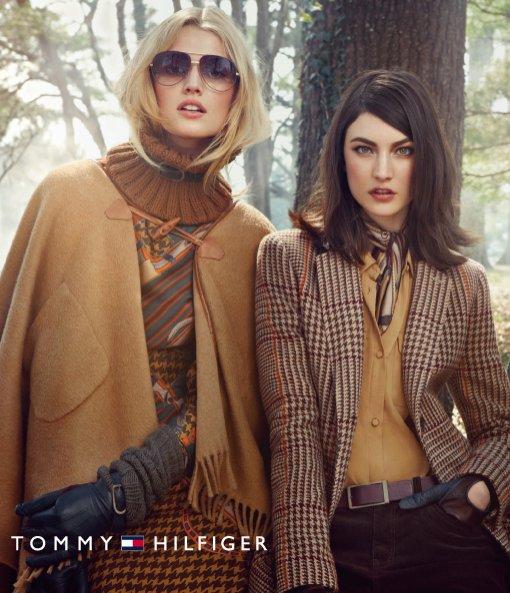 zdjęcia z kolekcji Tommy Hilfiger jesień-zima 2012/2013