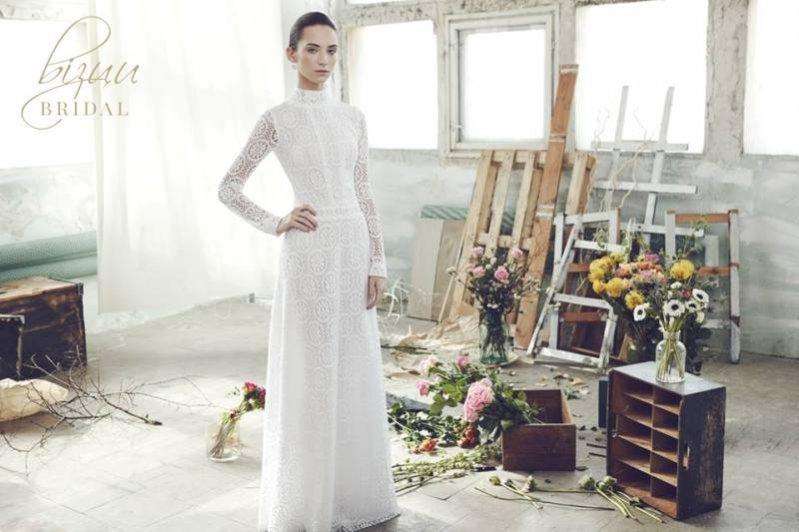 1. bizuu - kampania Bridal sukien ślubnych