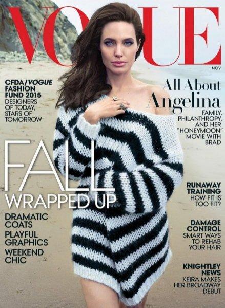 Vogue US - Angelina Jolie
