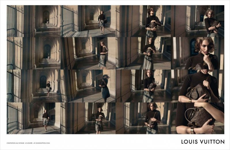 Arizona Muse w najnowszej kampanii Louis Vuitton