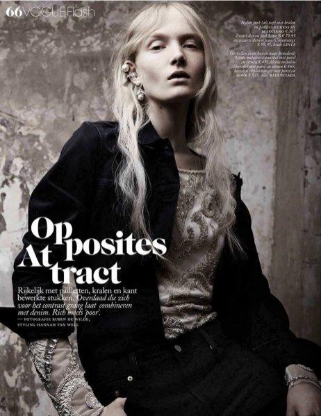 1. Maja Salamon w Vogue Netherlands