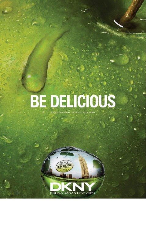 1. Nowa odsłona kampanii zapachu DKNY Be Delicious