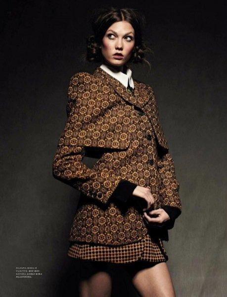 Karlie Kloss w Harper's Bazaar Russia wrzesień 2012