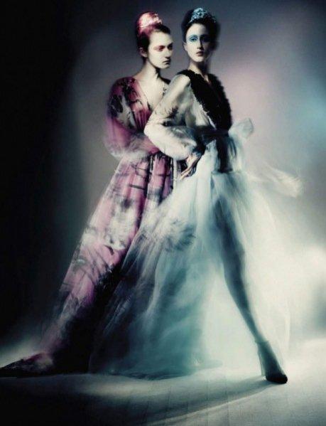 Kasia Jujeczka w Vogue Italia
