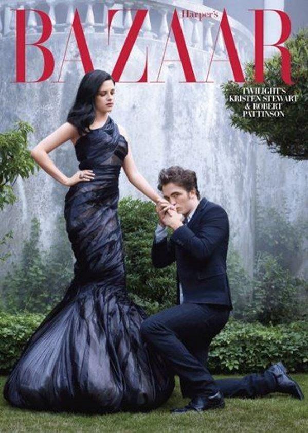Kristen Stewart na okładce Harper's Bazaar US (2009)