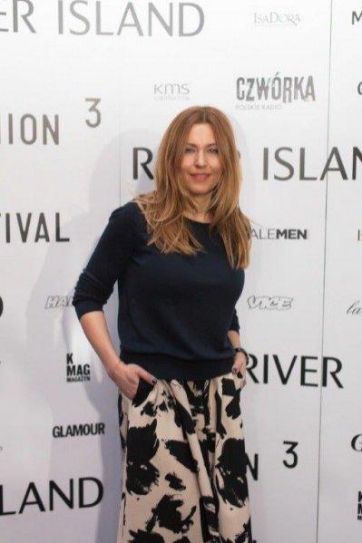 1. Beata Sadowska na inauguracji trzeciej edycji Warsaw Fashion Film Festival