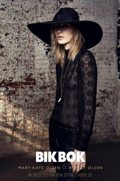 Ashley i Mary-Kate Olsen dla Bik Bok - lookbook jesień 2013