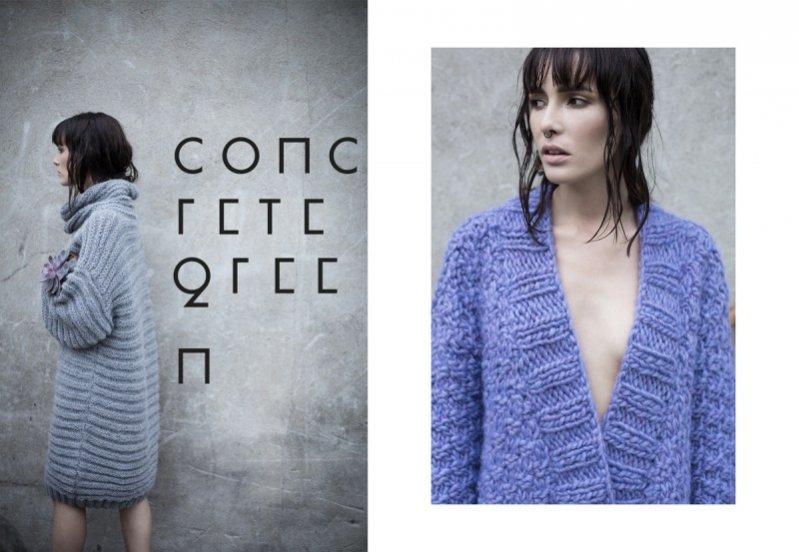 1. Kolekcja Anny Dudzińskiej Concrete Green Collection jesień zima 2015