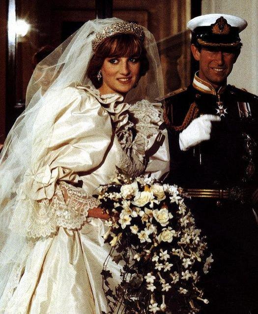 Ślub Diany i księcia Karola