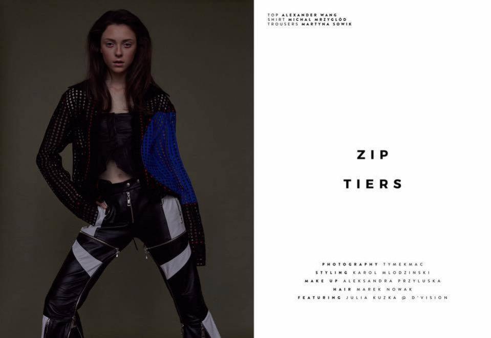 Julia Kuzka z D'VISION w edytorialu dla Syn Magazine