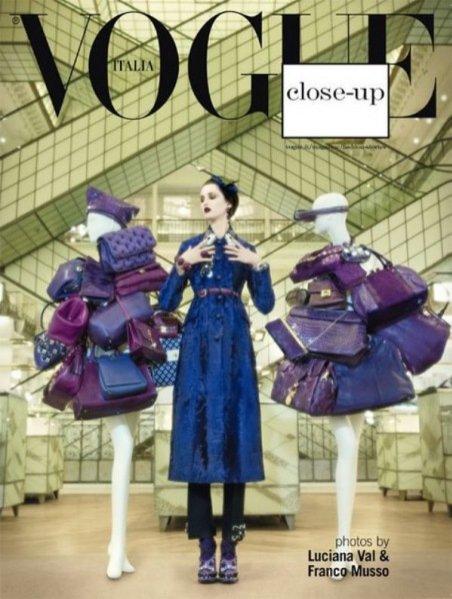 """dodatek do Vogue Italia """"Close-up"""""""