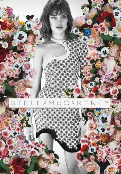 Natalia Vodianova w kampanii Stella McCartney wiosna lato 2012