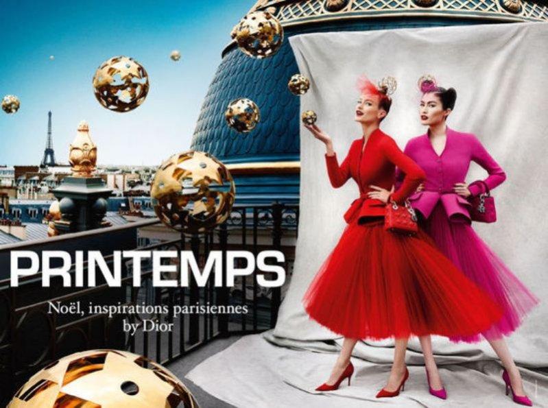 kampania Dior dla Printemps